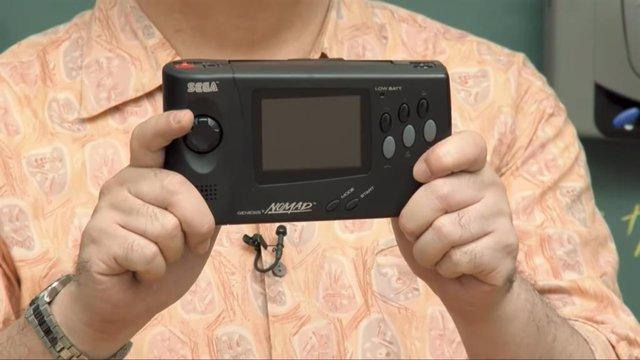 Consola Nomad de Sega.