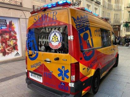 Arrolladas dos mujeres por un turismo tras colisionar con una ambulancia en Latina
