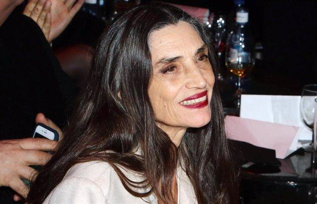 La actriz Ángela Molina