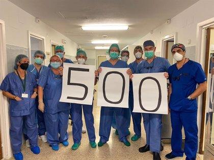 El Hospital Virgen del Rocío de Sevilla alcanza la cifra de 500 trasplantes de corazón