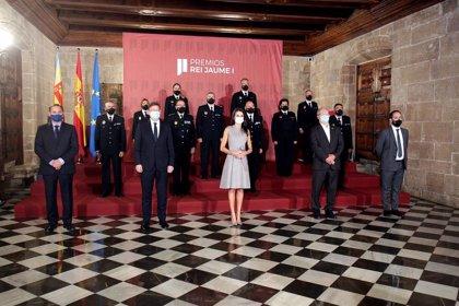 """La Reina Letizia destaca el trabajo de la Policía Local durante sus 150 años de historia y """"su labor actual"""""""