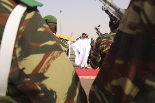 El presidente de Níger, Mahamadou Issoufou