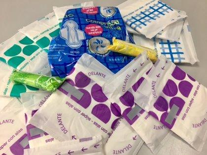 Los productos de higiene menstrual generaron 1.600 toneladas de residuos durante 2019 en Baleares