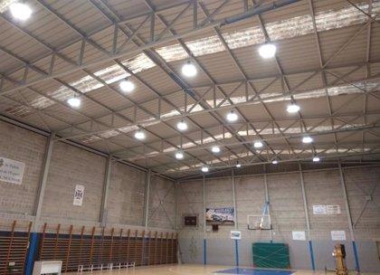 El IME destina 19.000 euros a renovar la iluminación de la pista del Pabellón Josep Amengual con focos LED