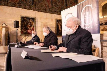 La Fundación de la Catedral de Burgos restaurará dos tapices flamencos del siglo XVI