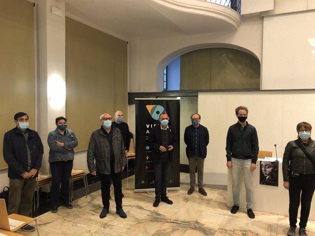 Presentació del primer festival de talent audiovisual emergent Visual Art de Lleida.