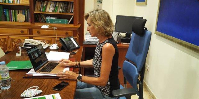 La delegada territorial de Educación, Deporte, Igualdad, Políticas Sociales y Conciliación de la Junta de Andalucía en Córdoba, Inmaculada Troncoso, en una imagen de archivo