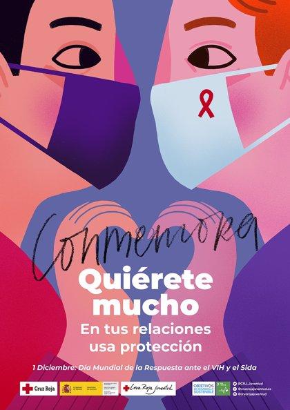 Cruz Roja atiende en Valladolid a más de 65 personas con VIH en situación de vulnerabilidad
