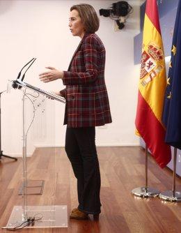 La portaveu del PP al Congrés, Cuca Gamarra. Madrid (Espanya), 30 de novembre del 2020.