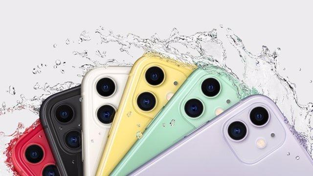 IPhone 11 y anuncio de resistencia al agua.