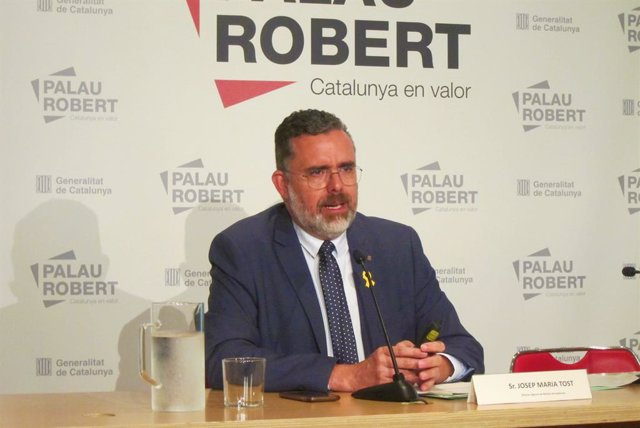 El director de l'Agència Catalana de Residus (ARC), Josep Maria Tost