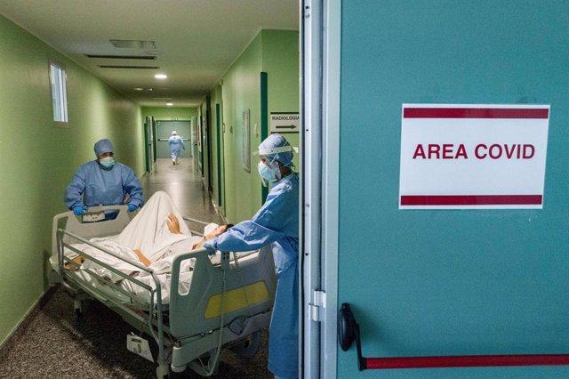 Un hospital en Milán