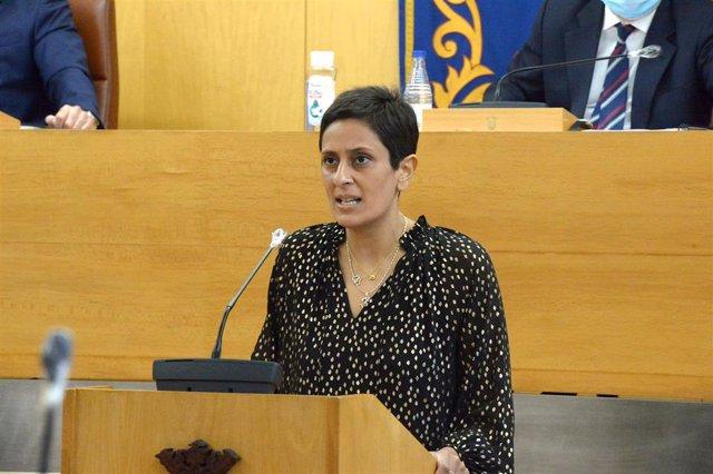 La consejera de Hacienda del Gobierno de Ceuta, Kissy Chandiramani