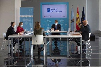 Xunta, Eixo Atlántico y CES crearán una comisión para demandar inversiones en el Corredor Atlántico del Noroeste