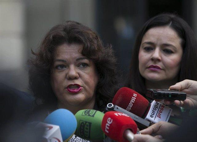 La alcaldesa de Huévar del Aljarafe, María Eugenia Moreno