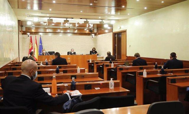 Comisión de Hacienda de presupuestos