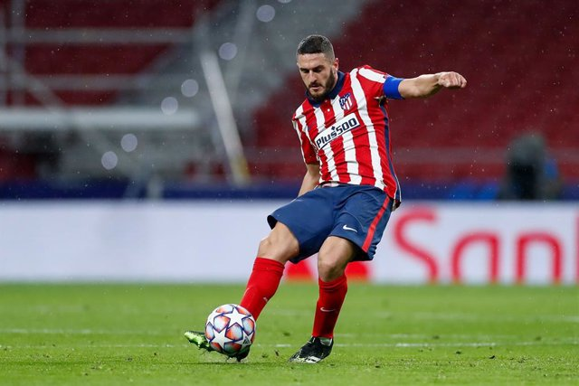 "Jorge Resurreccion ""Koke"" of Atletico de Madrid in action during the UEFA Champions League football match played between Atletico de Madrid and Lokomotiv Moskva at Wanda Metropolitano stadium on november 25, 2020, in Madrid, Spain"