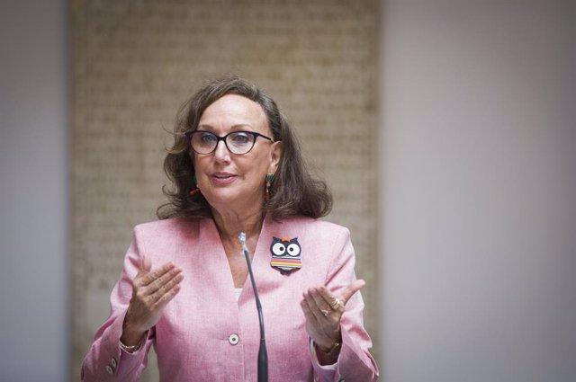 La máxima mandataria de la Secretaría General Iberoamericana, Rebeca Grynspan