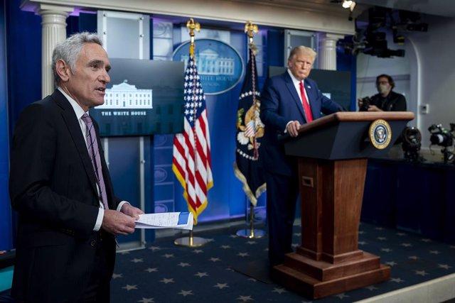 El exasesor especial del presidente de Estados Unidos, Donald Trump, Scott Atlas.