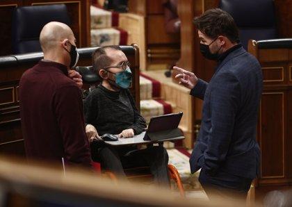 """Podemos retira la enmienda antidesahucios pero ERC y Bildu mantienen otras para """"seguir presionando"""""""