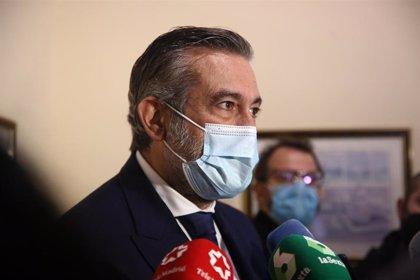 López (PP) dice que Podemos es el obstáculo para el acuerdo del CGPJ porque es una amenaza para la Constitución