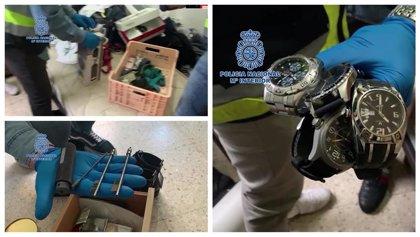 Detenidos en Murcia los 4 miembros de un grupo itinerante especializado en el robo en domicilios