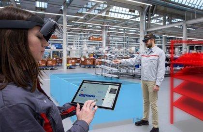 Audi utiliza la realidad aumentada para incrementar la eficiencia en la planificación logística