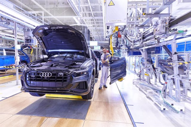 Fábrica de vehículos de Audi.