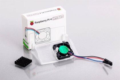 Raspberry Pi 4 mejora la refrigeración con el nuevo miniventilador de la marca