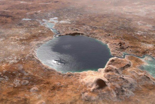 Antiguo cráter Jezero
