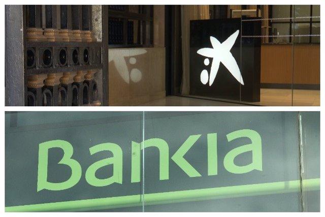CaixaBank i Bankia (Arxiu)