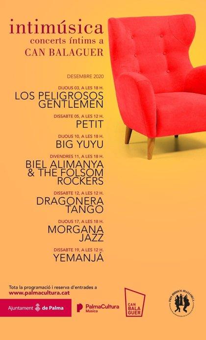 Can Balaguer acogerá el ciclo 'Intimúsica' del 3 al 19 de diciembre con siete conciertos de pequeño formato