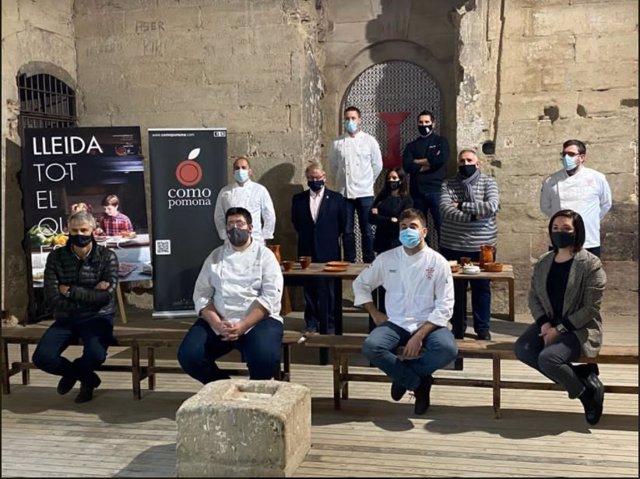 Restauradores y colaboradores de la campaña 'early bird dinners'