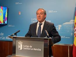 El presidente de Cecam, Ángel Nicolás, en una foto de archivo