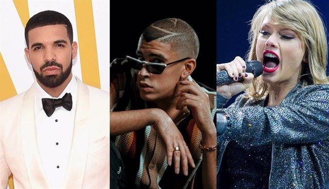 Los artistas más escuchados de 2020