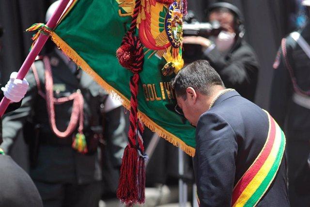 Luis Arce toma posesión como presidente de Bolivia