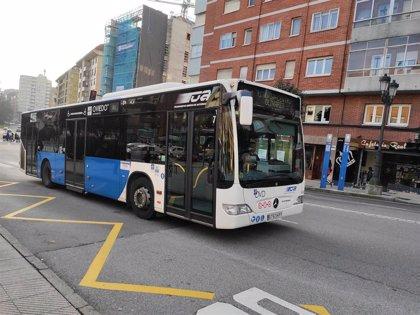 El Ayuntamiento de Oviedo destina 2,8 millones a TUA por la caída de pasajeros derivada de la pandemia