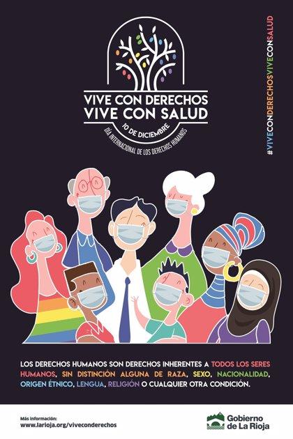 """""""Vive con Derechos, Vive con Salud"""", campaña del Gobierno riojano por el Día Internacional de los Derechos Humanos"""