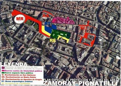 El Plan especial de Zamoray-Pignatelli actuará en los equipamientos, vivienda y viario público