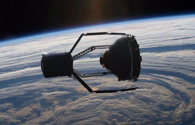 Ilustración artística de la misión ClearSpace 1