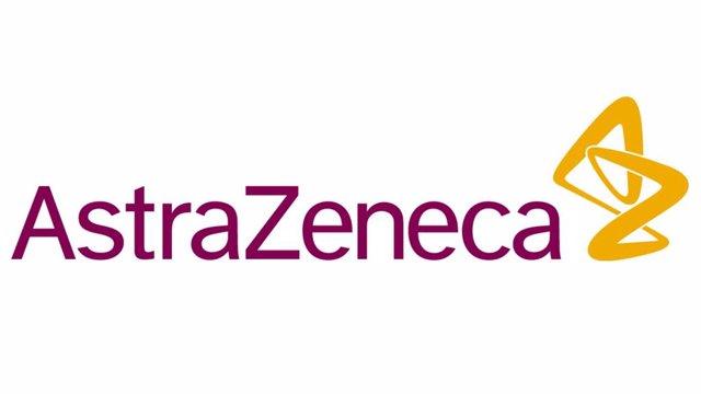 Logo de AstraZeneca.