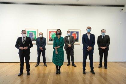 Bellas Artes Bilbao muestra el centenar de grabados donados por Eduardo Arroyo al museo antes de fallecer en 2018