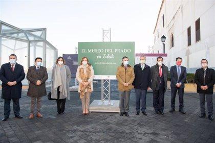 El toledano Paseo del Miradero, sala de exposiciones con la muestra 'El Prado en las calles'