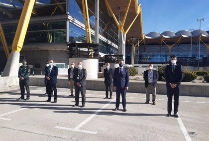 Delegado del Gobierno en Madrid visita Barajas para comprobar el plan de autoprotección ante emergencias aéreas