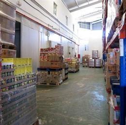 Almacén del Banco de Alimentos de la Costa del Sol (Bancosol)