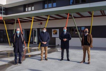 El nuevo instituto 'El Cierzo' de Ribaforada acogerá al alumnado a partir del próximo 12 de enero