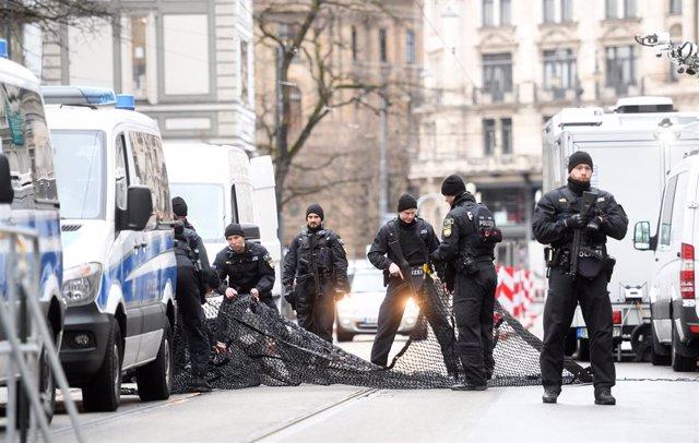 Policia alemanya (Arxiu). Photo: Tobias Hase/dpa