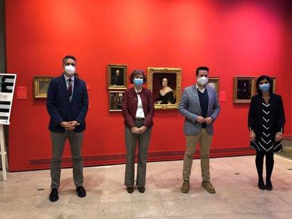 Esnaola visita en Tudela el Museo Muñoz Sola y se reúne con el patronato de la Fundación María Forcada