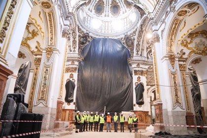 Ayuntamiento de Málaga destina más de medio millón de euros a las obras de restauración de la iglesia de Los Mártires