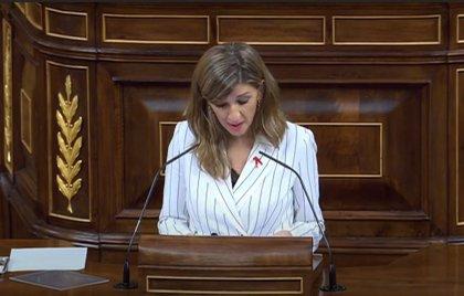 """Díaz dice que los Presupuestos permitirán dar continuidad a los ERTE """"mientras sea necesario"""""""